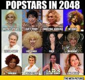 Pop Stars In 2048