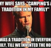 The Camping Tradition