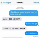 Mom Doesn't Know What's Going On