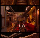 Awesome Steampunk Restaurant In New Delhi