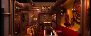 Awesome Steampunk Restaurant In New Delhi