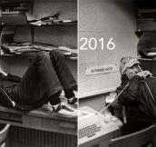 Bill Gates Recreates 1973 High School Yearbook Photo