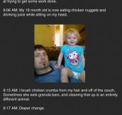 Guy thinks his wife does nothing all day, then this happens…