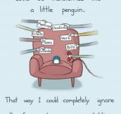 I Would Like To Be A Little Penguin