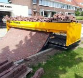 Path-Laying Machine