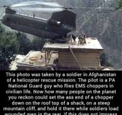 Show some respect to this guy!