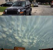 Some of The Most Spectacular Cloud Formations