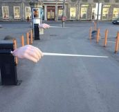 The Estonian National Opera Parking Entrance