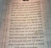 Thomas Jefferson Said This A Long Time Ago