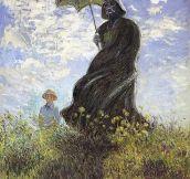 Monet's Darth Vader