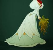 Disney Princesses In Accurate Period Clothing