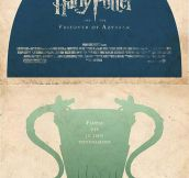 Better Poster Versions For Harry Potter Movies
