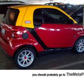 The Perfect Paint Scheme For A Smart Car