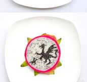 When An Artist Plays With Her Food