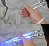 Lightsaber Chopsticks, The Best Kind Of Chopsticks