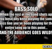 Finally Someone Understands Bass Players