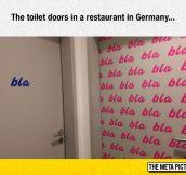 Toilet Doors