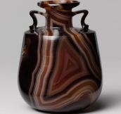 2,100 year old Agate perfume bottle