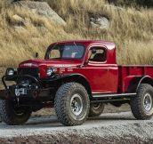 A 1947 Dodge Power Wagon