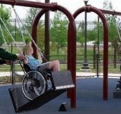 Community Puts In A Wheelchair Park So That No Kid Feels Left Out
