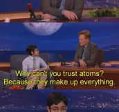 Conan gets scienced