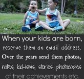 I'm going to do this with my children!