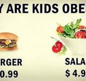 The Reason Children Are Obese