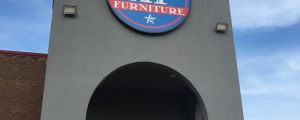The most patriotic furniture store ever
