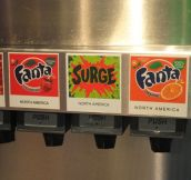 They have Surge on tap at the Coke museum in Atlanta