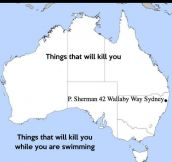 The Australian Territory As Seen By An American