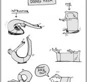 The Very First Time Doing Yoga