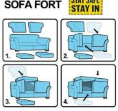 Ikea Sofa Fort