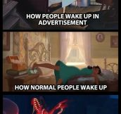 How People Usually Wake Up