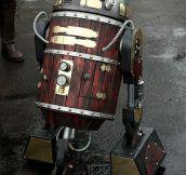 Magnificent Steampunk R2-D2