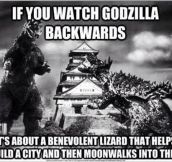 Godzilla Doing The Right Thing