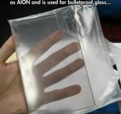 Ever Heard Of Transparent Aluminium?