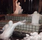 The Walking Dead, Snow Sculpture Edition