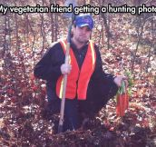 When Vegetarians Decide To Hunt