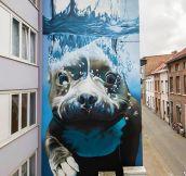 Epic Mural In Belgium
