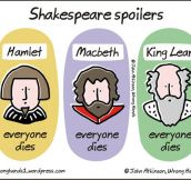 Spoilers In Shakespeare Books
