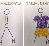 Formal Vs. Casual Chemistry
