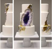 A Geode Cake