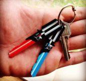 Light Saber Keys For True Star Wars Fans