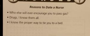 Some Reasons To Date A Nurse