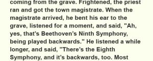 That Time When Beethoven Died
