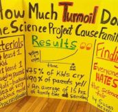 Science Project Turmoil