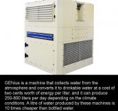 Incredible Machine Makes Drinking Water From Thin Air