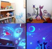 Fantastic Glowing Wall Decor