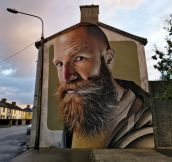 Incredible street art in Waterford, Ireland