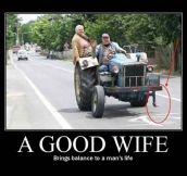 That's a good wife